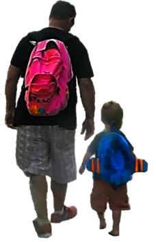 let dad